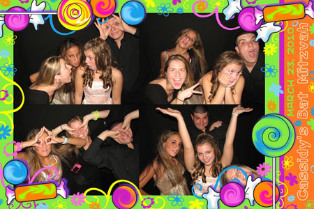 Photo Booth Express Premium Graphics - Candy Girl