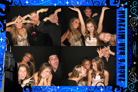 Photo Booth Express Premium Graphics - City at Night