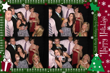 Photo Booth Express Premium Graphics - Happy Holidays