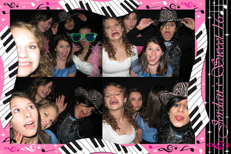 Photo Booth Express Premium Graphics - Musical