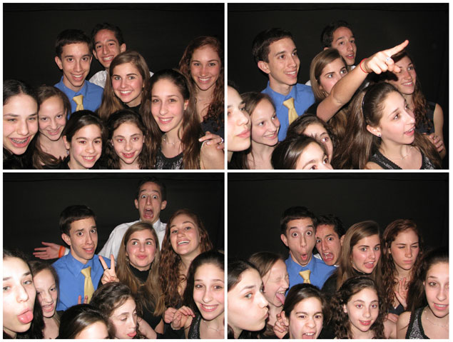 Bar Mitzvah Photo Booth