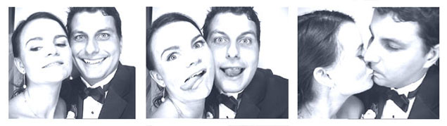 Old Fashioned Photo Booth for Wedding