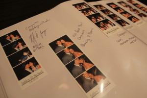 Chicago Wedding Photo Booth Guestbook