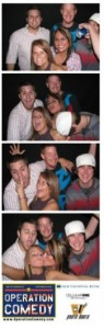 Photo booth action